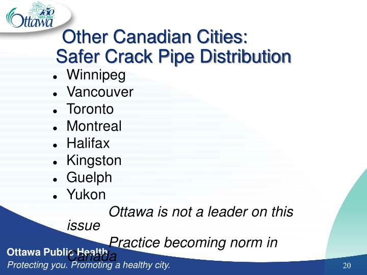 Other Canadian Cities: