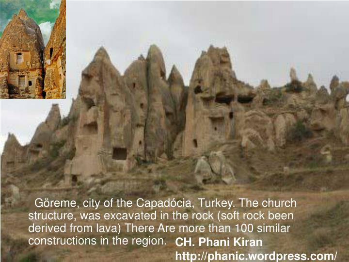 Göreme, city of the Capadócia, Turkey. The church structure, was excavated in the rock (soft rock been derived from lava) There Are more than 100 similar constructions in the region.