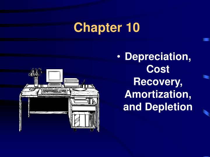 depreciation impairments and depletion Depreciation, impairments, depletion intermediate financial accounting i - depreciation , impairments , depletion  1 - you just got hired as an adjunct professor for a local university.