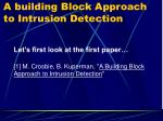 a building block approach to intrusion detection