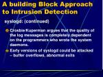 a building block approach to intrusion detection6