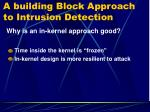a building block approach to intrusion detection8