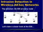 intrusion detection in wireless ad hoc networks1