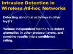 intrusion detection in wireless ad hoc networks4