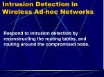 intrusion detection in wireless ad hoc networks5