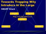 towards trapping wily intruders in the large4