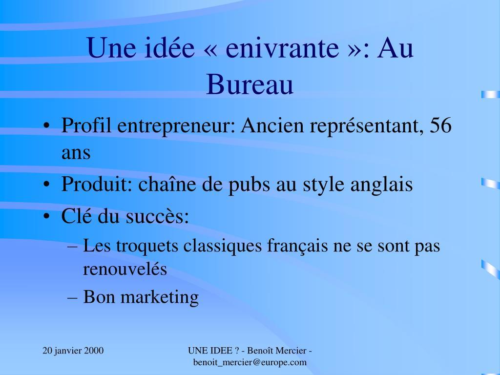 Idée De Photo De Profil ppt - une idée ? powerpoint presentation, free download - id