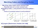 marching cubes and dangling nodes