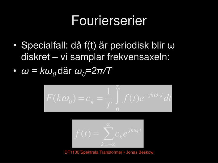 Fourierserier