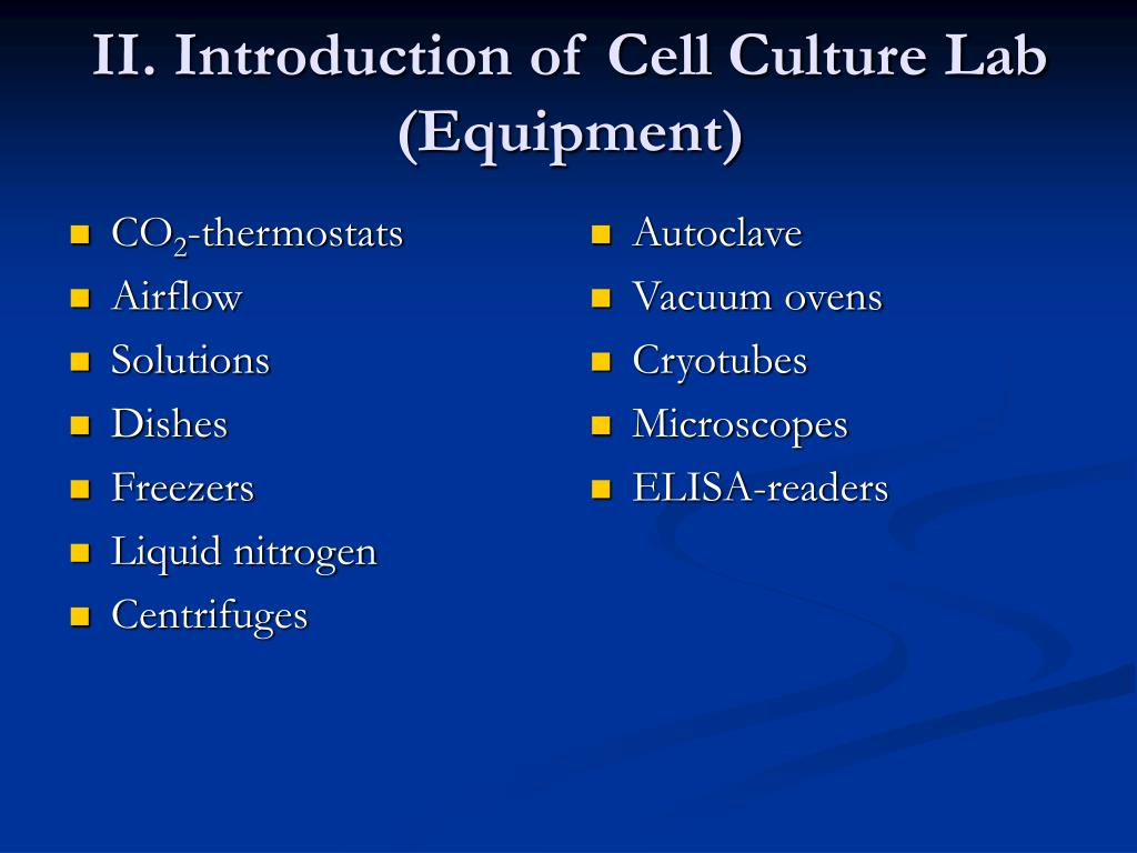 PPT - Cell Culture Techniques PowerPoint Presentation - ID:4161440