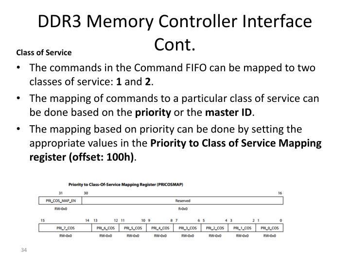 DDR3 Memory Controller Interface Cont.