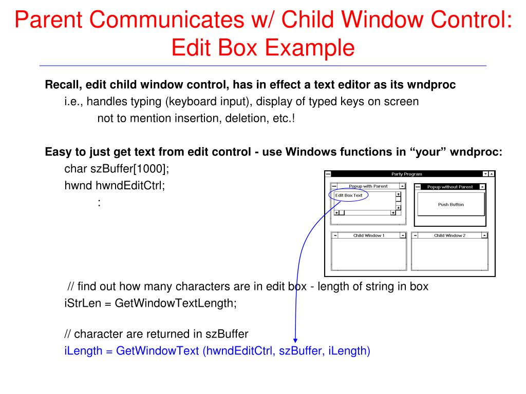 PPT - Petzold: Review: Chapter 9 (child window controls