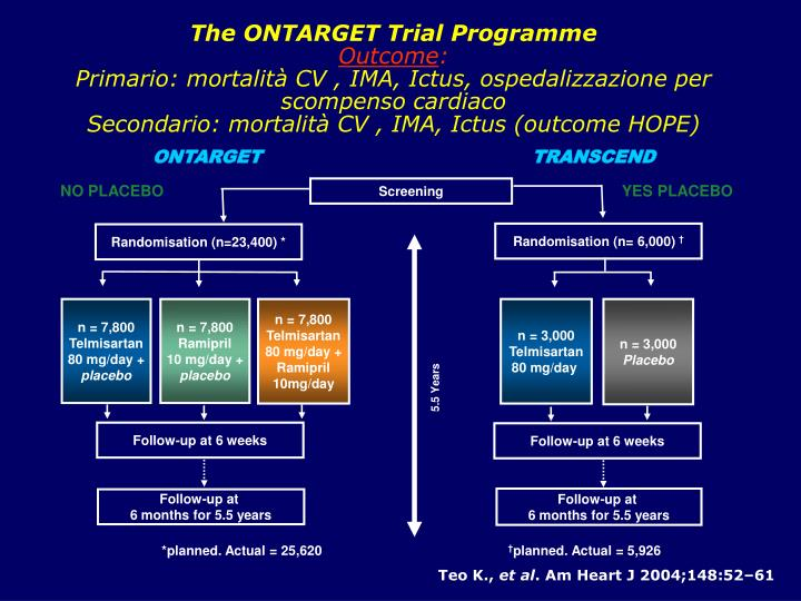 The ONTARGET Trial Programme
