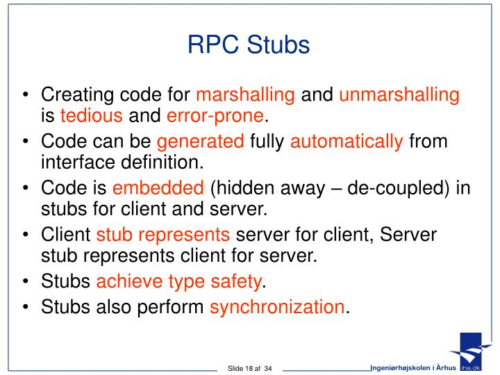 RPC Stubs