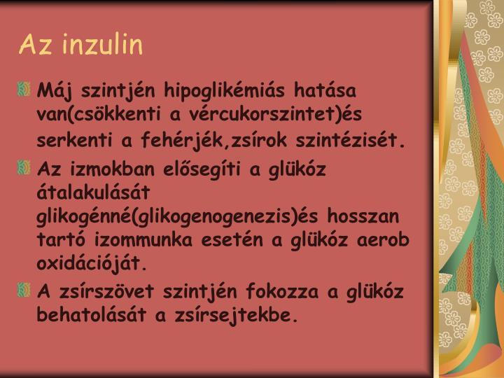 Az inzulin