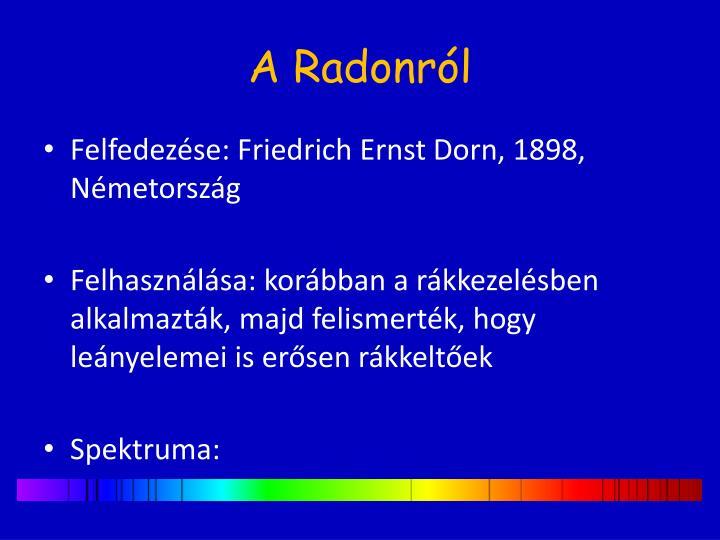 A radonr l
