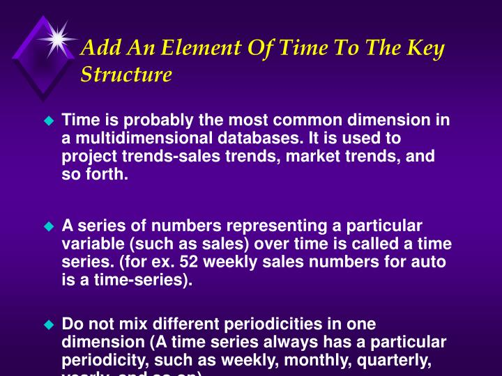Add An Element Of Time To The Key Structure