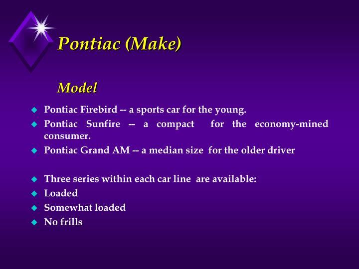 Pontiac (Make)