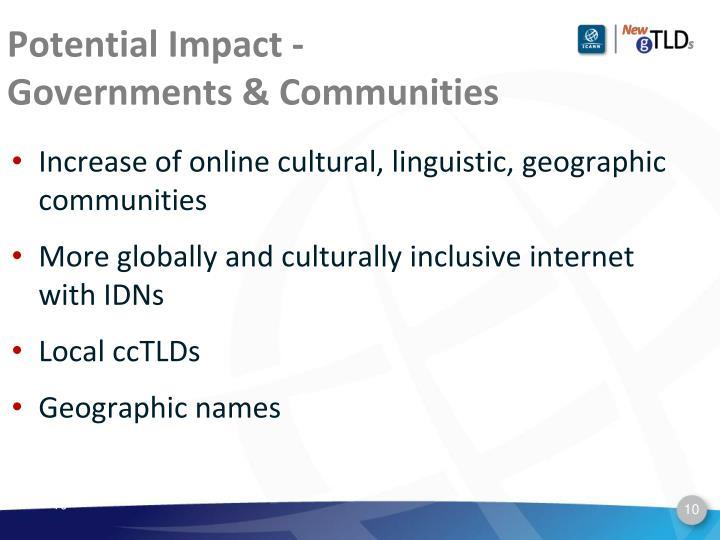 Potential Impact -