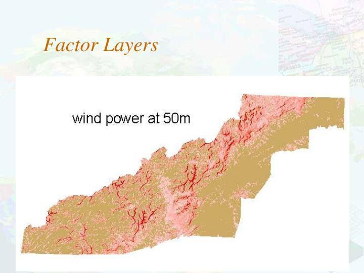 Factor Layers