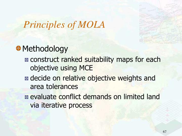 Principles of MOLA