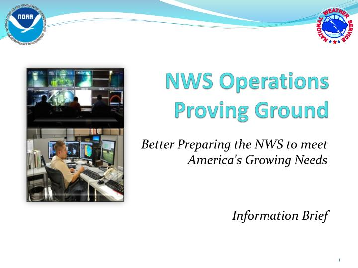 nws operations proving ground n.