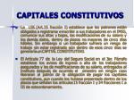 capitales constitutivos
