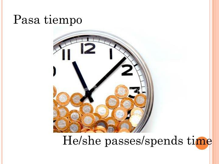 Pasa tiempo