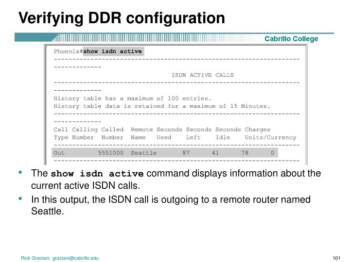 Verifying DDR configuration