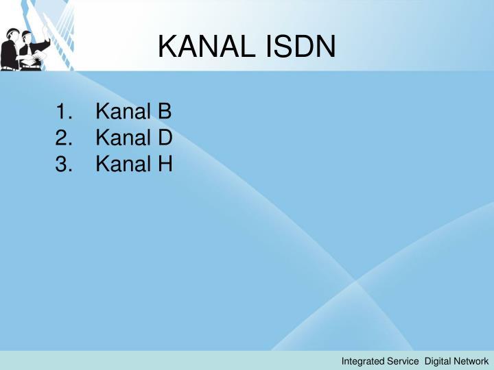 KANAL ISDN