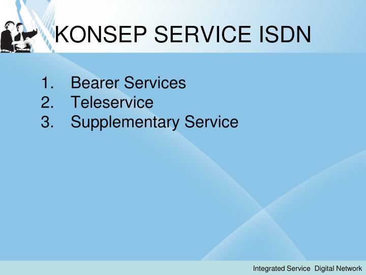 KONSEP SERVICE ISDN