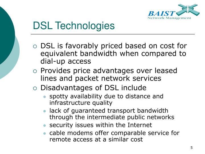 DSL Technologies