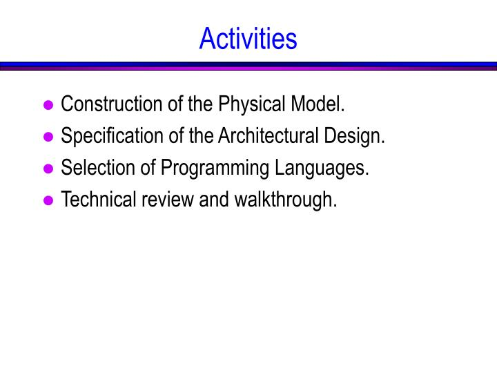 Construction of the Physical Model.