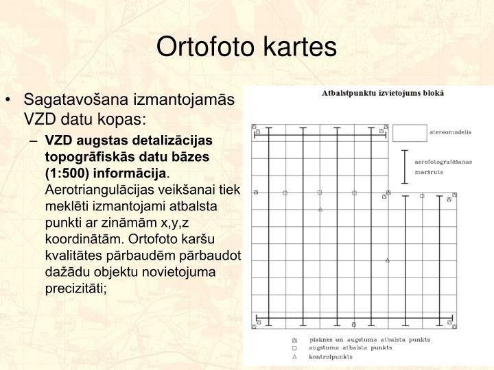 Ortofoto kartes