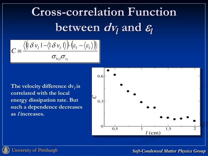 Cross-correlation Function