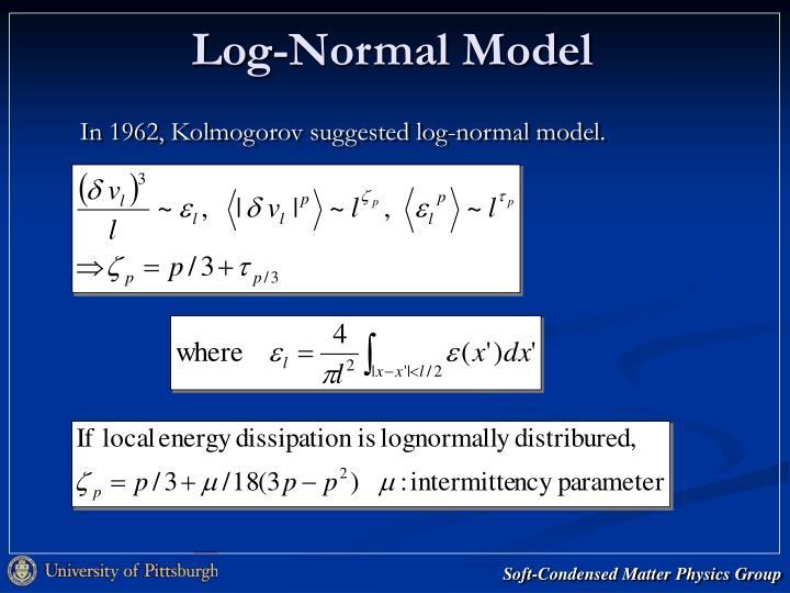 Log-Normal Model