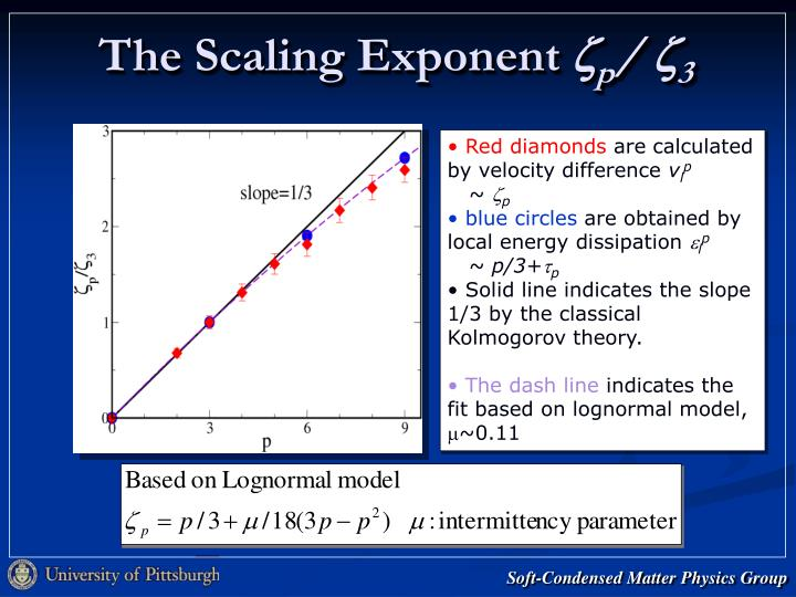 The Scaling Exponent