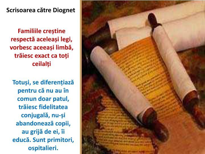 Scrisoarea către Diognet