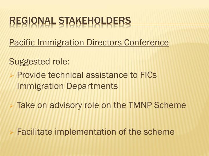 Pacific Immigration Directors Conference