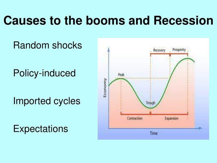 Causes to the booms and Recession