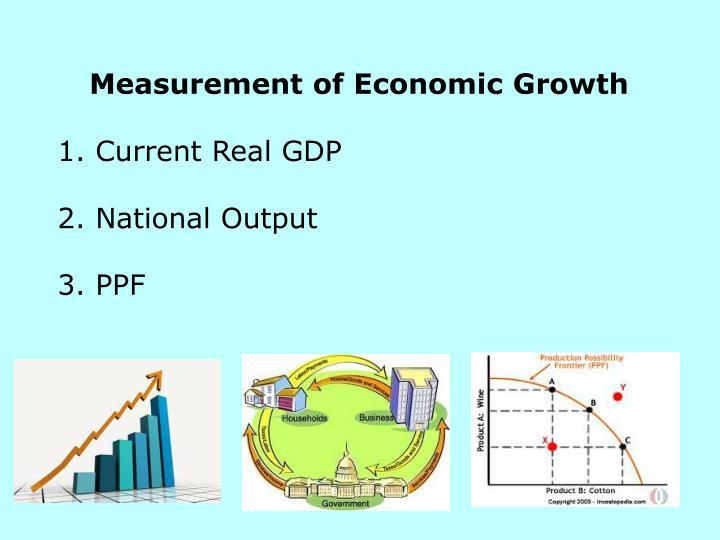 Measurement of Economic Growth