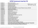hitsp constructs used by ctc