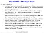 proposed phase ii prototype project