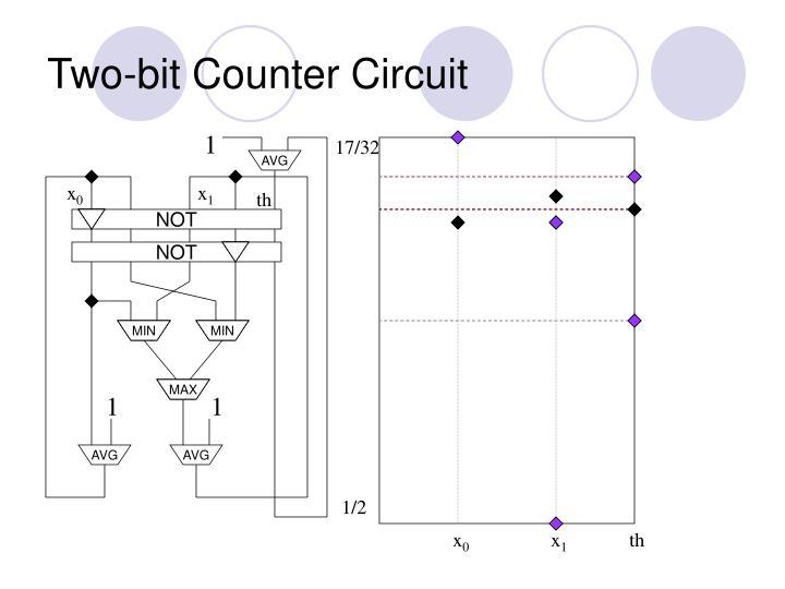 Two-bit Counter Circuit