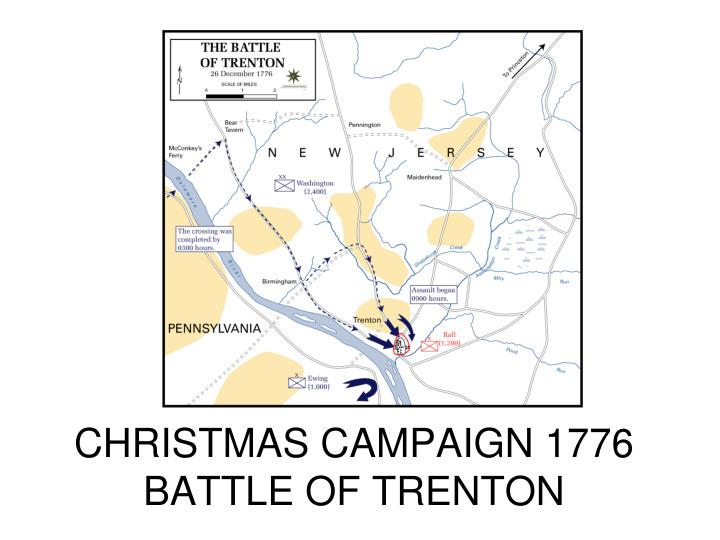CHRISTMAS CAMPAIGN 1776