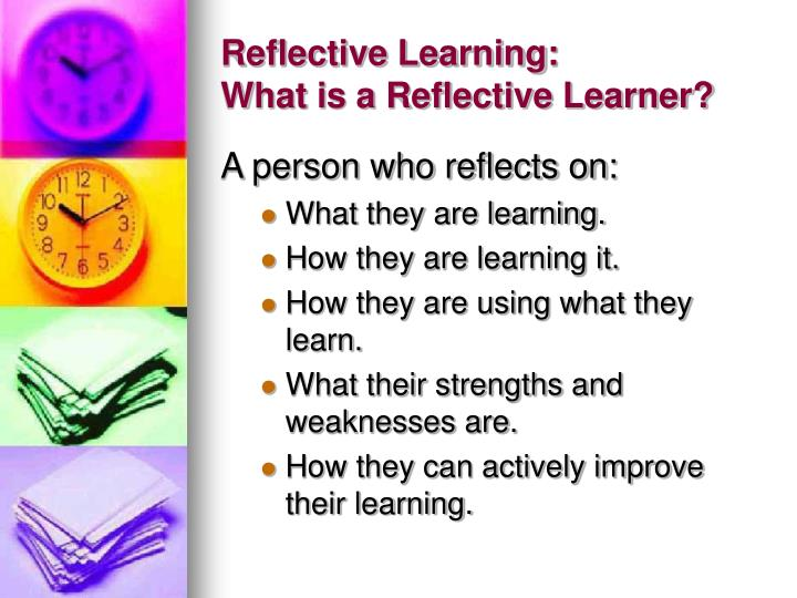 be able to improve performance through reflective practice essay Be able to prepare a professional development plan 3 establish a process to evaluate the effectiveness of the plan lifelong learning is reflective practice is being self-aware, challenging and objective it is also about recording and reviewing your learning and keeping track of your performance.