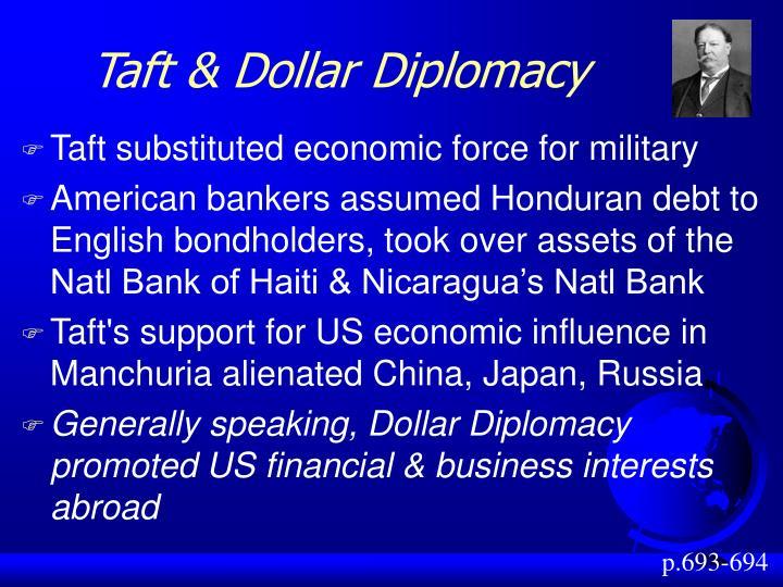 Taft & Dollar Diplomacy