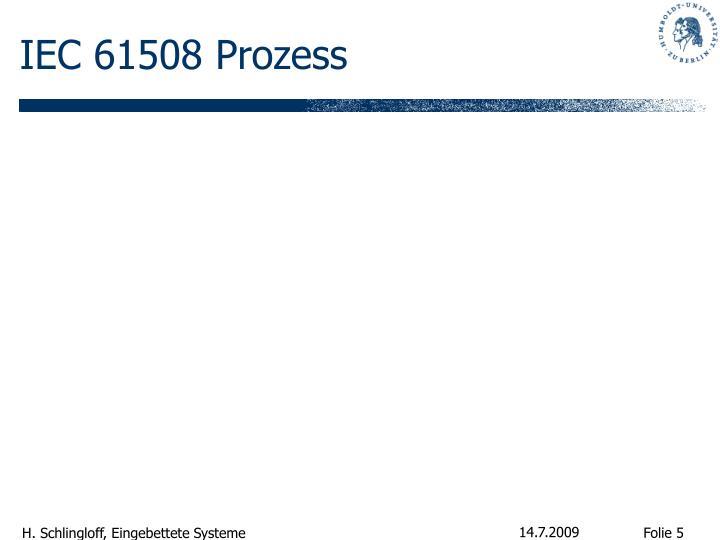 IEC 61508 Prozess