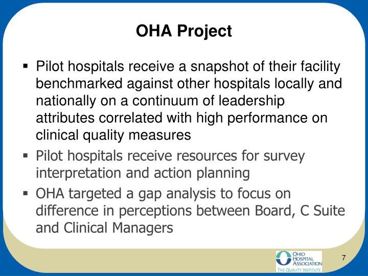 OHA Project