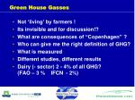 green house gasses
